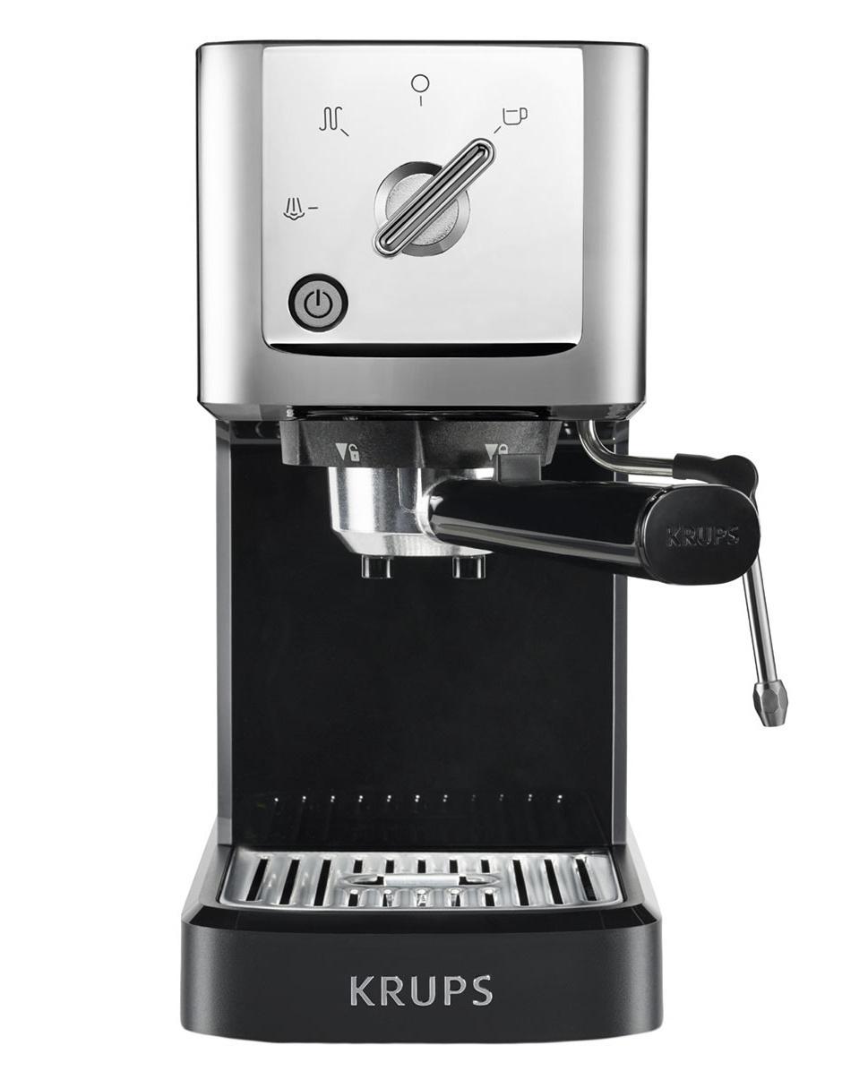 1 Espressería Cafetera Manual Calvi Litros Krups 1 OPZ0wnkN8X